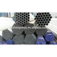 Tuyau en acier galvanisé ASTMA53 / tube galvanisé galvanisé / tuyau galvanisé ERW / BS1387-1985 / Q235 / SS400