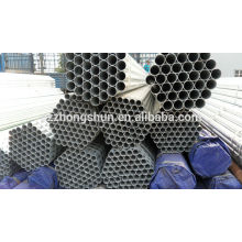 galvanized steel pipe ASTMA53 /galvanized seamless pipe/ERW galvanized pipe/BS1387-1985/Q235/SS400