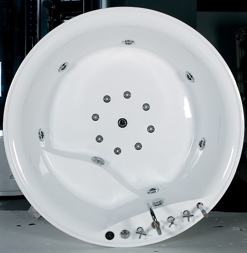 acrylic sheet round freestanding acrylic bathtub
