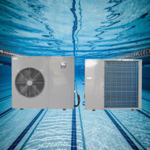 jacuzzi swimming pool heat pump with R410a refrigerant