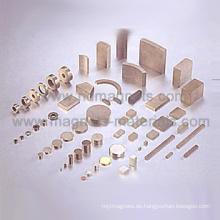 Samarium Cobalt Magnete in verschiedenen Formen