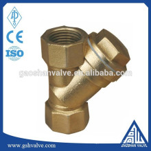 brass y strainer for water