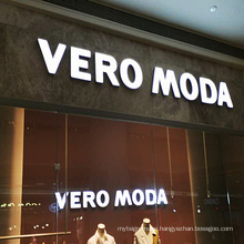 Advertising Company Outdoor Rimless Signage Customized 3d  Lighting  Letter Sign Letters  Led Channel Letters