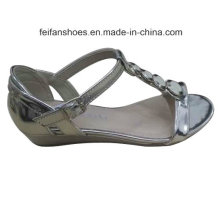 2016 Dernière Mode Haute Qualité Diamant Femmes Sandales Wedge Heel
