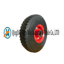 10-Zoll-Vollgummi-Räder für Handwagen und Trolleys