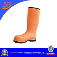 Высокое качество стальным носком резиновые сапоги