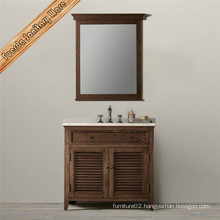 Bathroom Vanity with Shutter Design