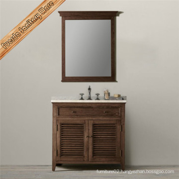 Bathroom Vanity with Shutter Design