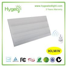 Luz de panel llevada ultrafina al aire libre 120 grados Iluminación luz de techo llevada 36w