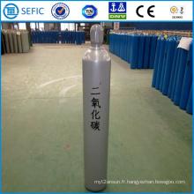 Cylindre sans couture de CO2 d'acier à haute pression de 80L (ISO267-80-15)