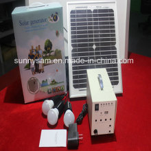 20W Solar Home System Lighting Lamp for Indoor Use