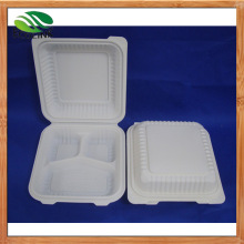 8inch Biodegradable Clamshell Box/ Lunch Box
