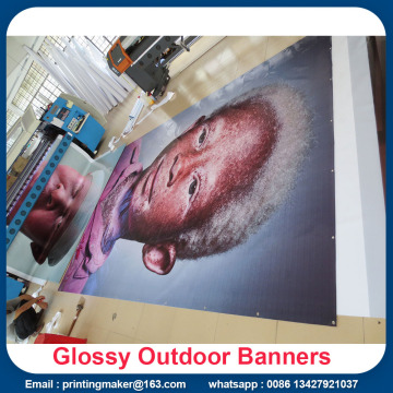 Storformatutskrift Custom Vinyl Banners with Grommets