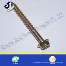 Tornillo de brida hexagonal estándar de alta resistencia Asme