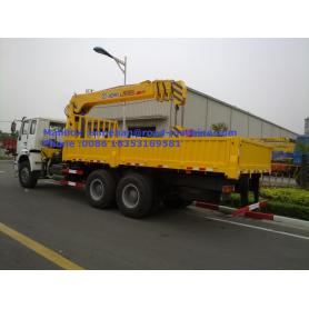 5T HOWO Truck Crane Mobile Mounted