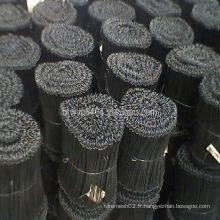 Attaches de barre en acier doux galvanisé
