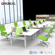 Wholesale face to face Adjustable Height table Electric Office sit Standing desk workstation