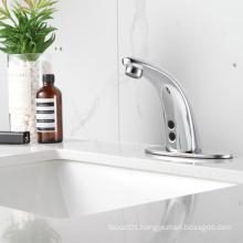 F153 Commercial Automatic Tap Sensor Electric Water mixer  Bathroom Sensor Faucet