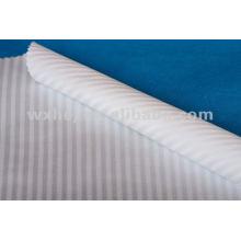 Tissu en percale de coton à bas prix et tissu en lin sur mesure