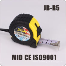 Construction Tools Rubber Case Stainless Measuring Tape