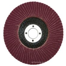 Disco de aleta de óxido de aluminio para madera y metal