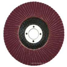 Disque à lamelles en oxyde d'aluminium pour bois et métal