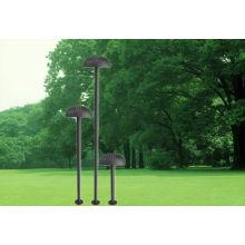 Alto operado energia solar jardim luz gramado lâmpada