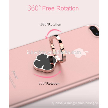 wholesale 360 degree rotation Zinc Alloy material mobile ring stand ring grip for iphone