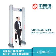 Pantalla táctil Detectores de metal portátiles de seguridad al aire libre