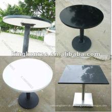 KKR pedra real pequeno tamanho mesa de centro de forma redonda
