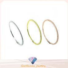Atacado jóias belas 925 pulseira de prata (g41279)