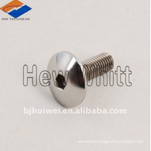 titanium cup head bolt