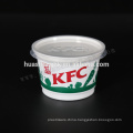 Food Grade KFC 320ml disposable PP plastic soup cup