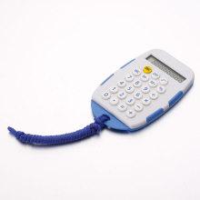 Pequena calculadora branca