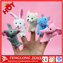 2015 interesting animal finger puppets for children