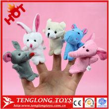 2015 интересные куклы для пальцев животных для детей
