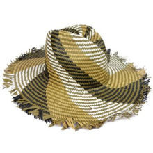 New Style Summer Fashionable Paper Straw Folding Cowboy Hat