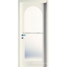 Bogen oben weiße Prime MDF Carving-Türen mit Glas