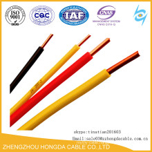 Solid Copper PVC Insulated F-GV Cable 6mm2