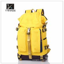 2015 дешевые холст рюкзак, холст школа мода рюкзак