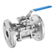 DIN 3202-F1 Aço Inoxidável Três Peças Válvula de Esfera Tipo Flange