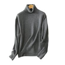 Pullover mit Rollkragenpullover 100% Kaschmir-Strickpullover 5gg Pullover mit Übergroßen Winterpullover