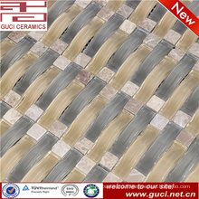 made in china Mixed Stone crystal glass mosaic tile for house design