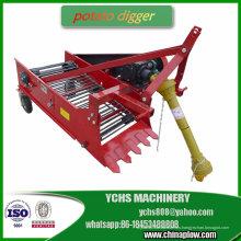 Máquina agrícola cosechadora de papas de 1 fila para Bomr Tractor