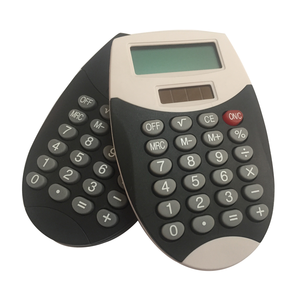 8 Digits Mini Plastic Pocket Calculator for Children
