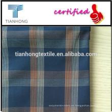 100% tela de algodón hilado teñido tejido/tela escocesa Fabrice LV