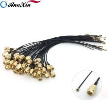 Échantillon gratuit Antenne Extension Câble Coaxial Assemblée SMA Bulkhead Pigtail RP Sma à U.fl
