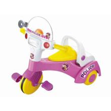 Triciclo grande del pedal del cabrito de la venta caliente con música y luz