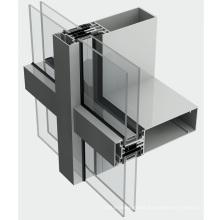 Outdoor Aluminum Building Facade Panel Curtain Wall