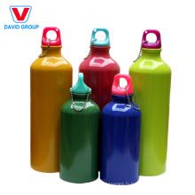 750 ml en gros bouteille d'eau en aluminium